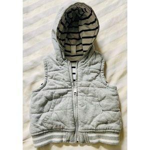 EUC Gap zip up cotton vest